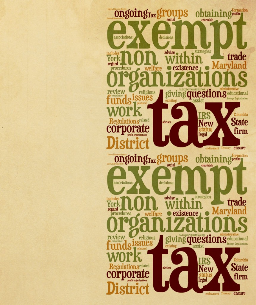 how to become tax exempt